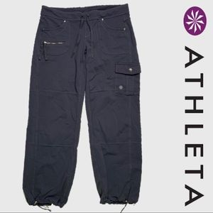 Athleta Gray Synch Ankle Joggers